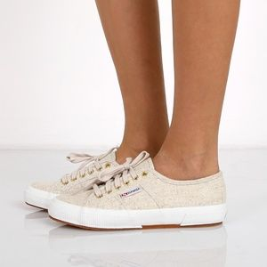 SUPERGA 2750 Linu natural sneakers